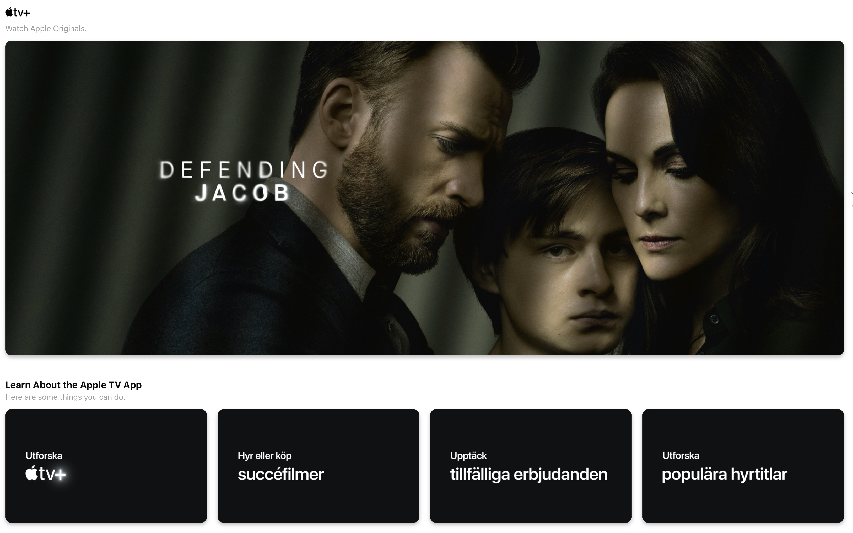 Rykte: Apple TV+ kommer fyllas upp med äldre innehåll