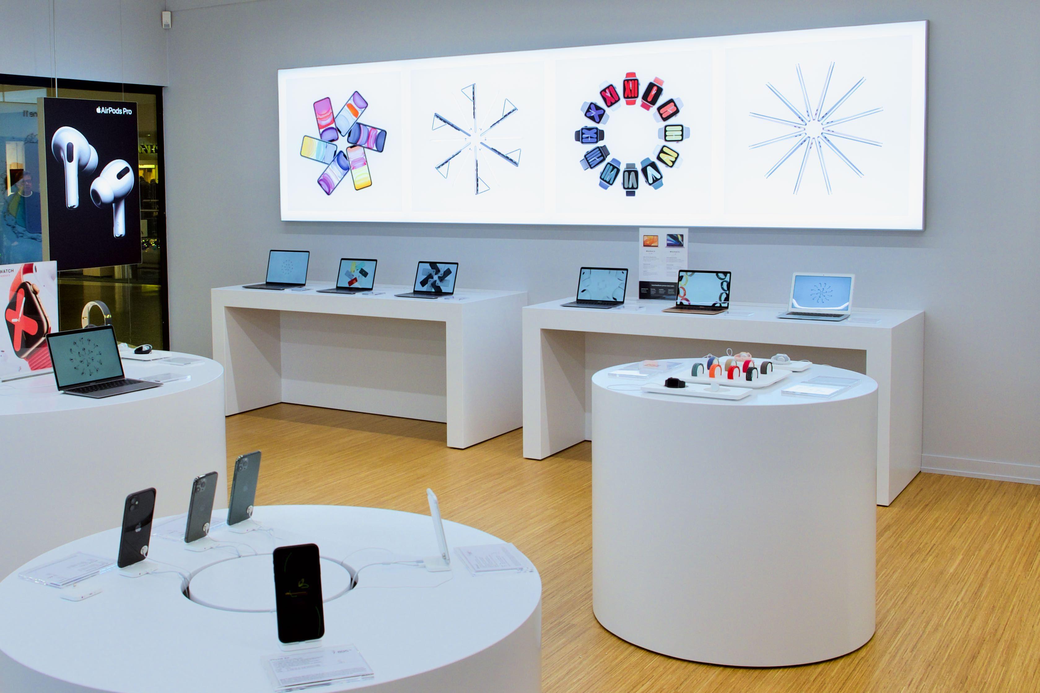 mStore öppnar en till butik i centrala Stockholm