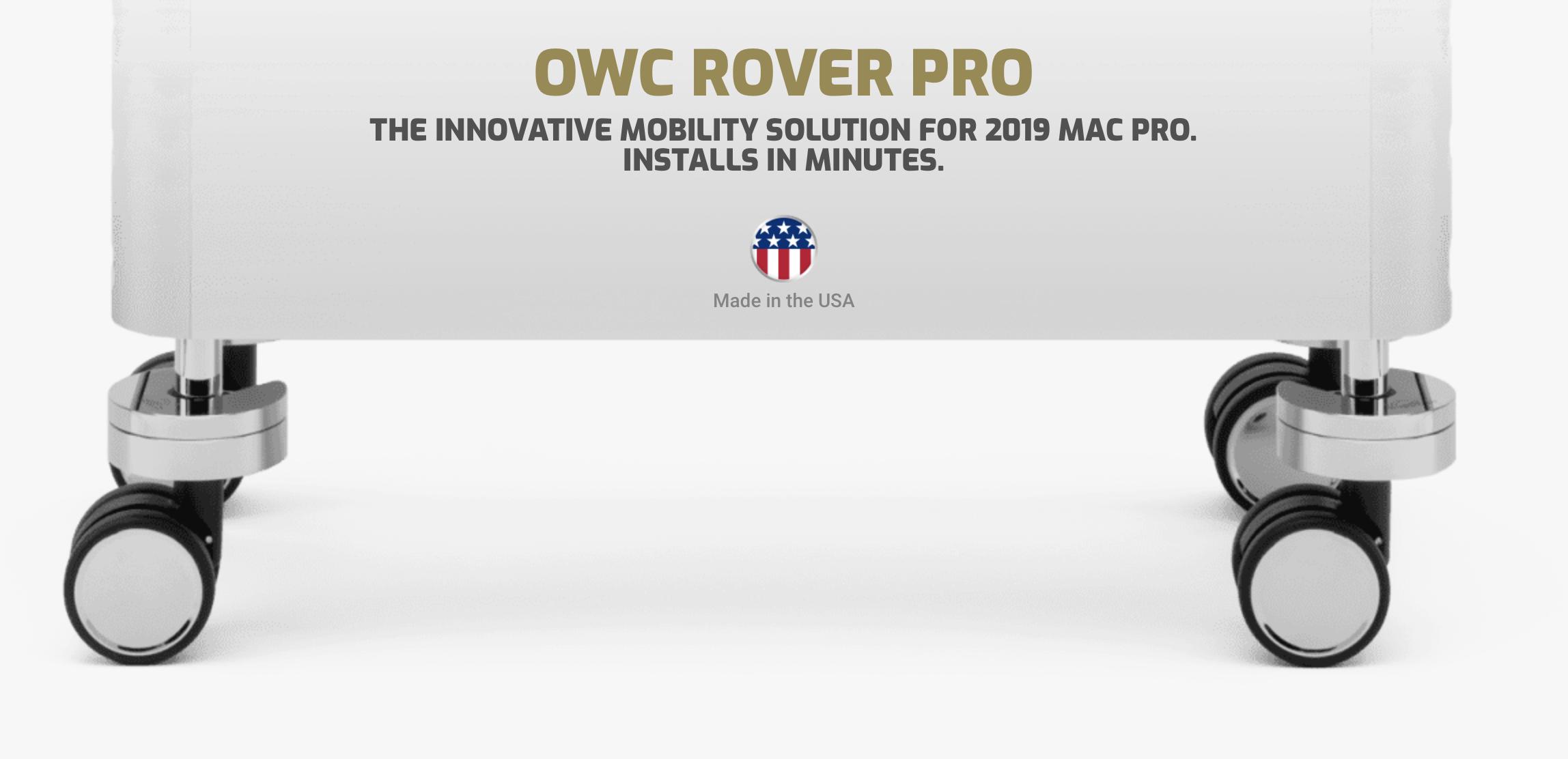 OWC lanserar hjul till Mac Pro som inte bränner hål i plånboken