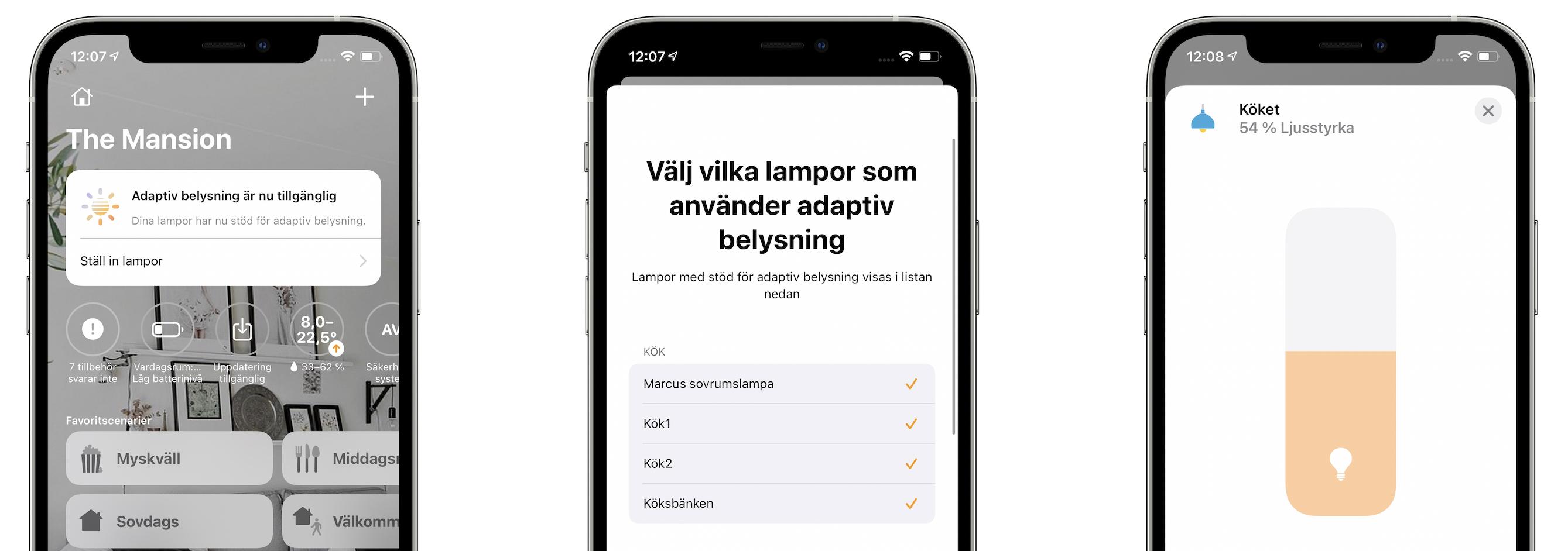 Nu har Philips Hue lanserat adaptivt ljus i Sverige